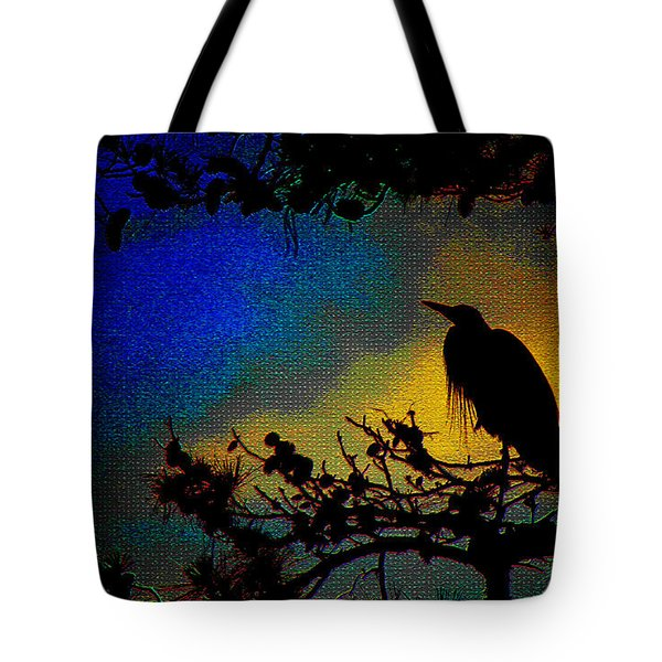 Richly Colored Night  Tote Bag