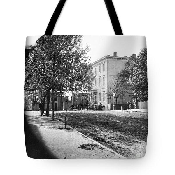 Richmond: Davis Home, 1865 Tote Bag by Granger