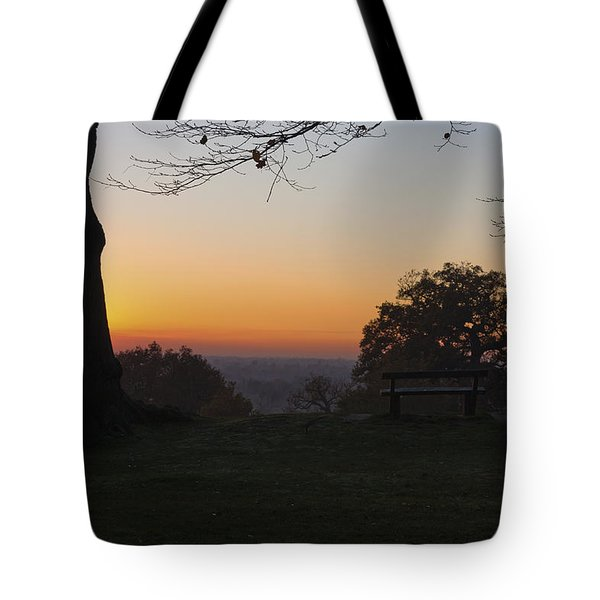 Richmond Sunset Tote Bag