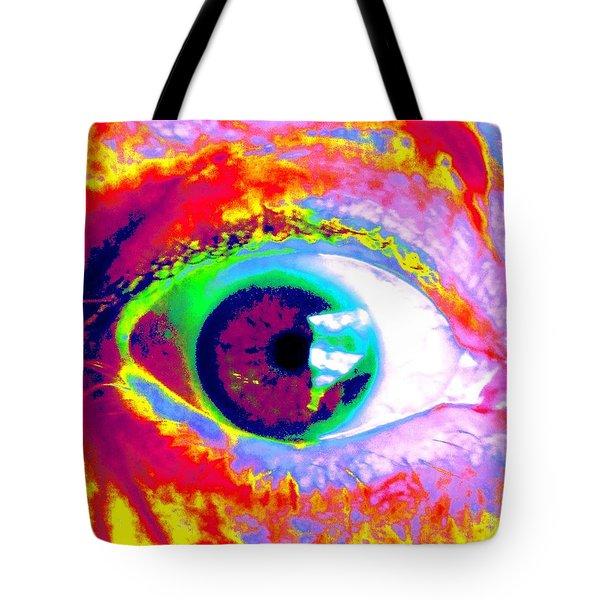 Rico's Eye Tote Bag by Renate Nadi Wesley
