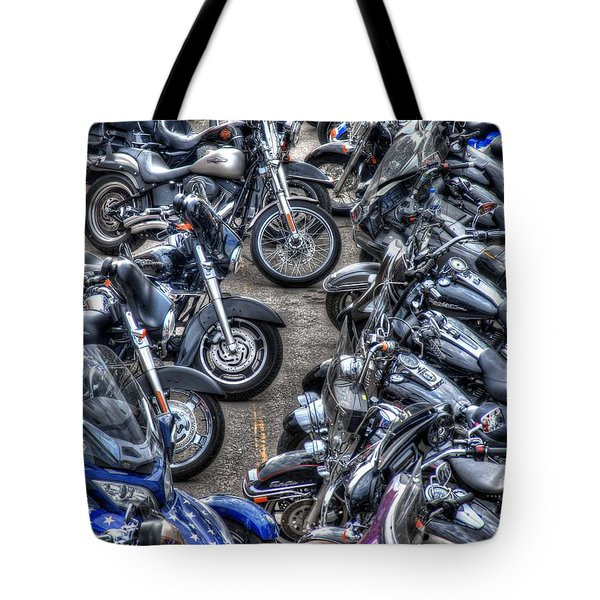 Ride And Shine Tote Bag