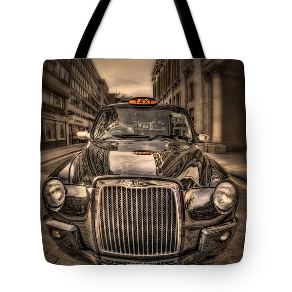 Ride With Me Tote Bag by Evelina Kremsdorf