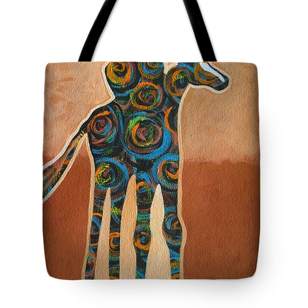 Riding In Circles Tote Bag by Lance Headlee