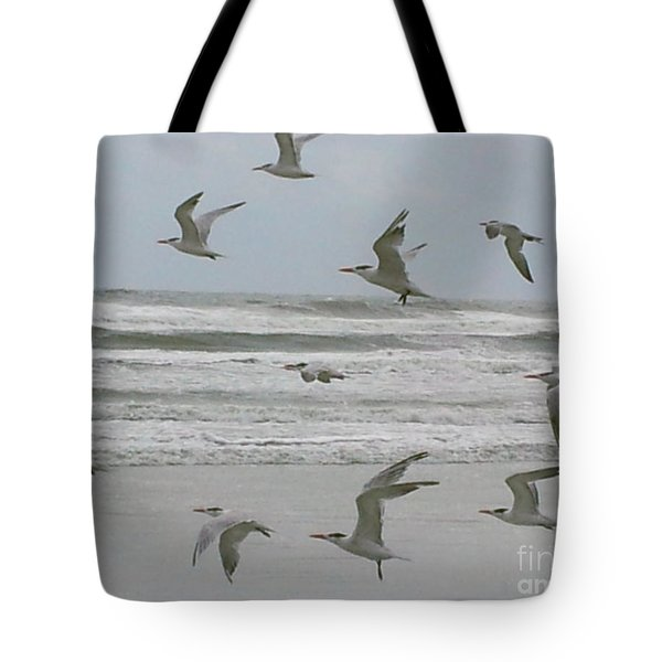 Tote Bag featuring the photograph Riding The Wind by Donna Brown