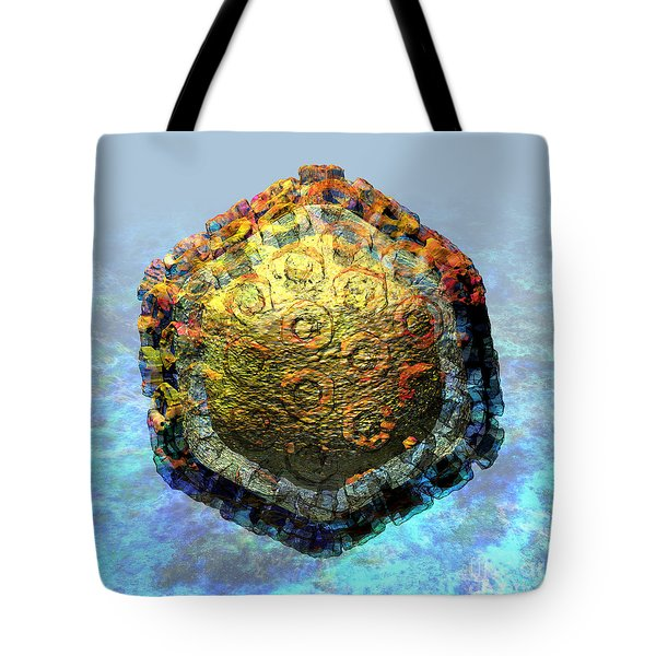 Rift Valley Fever Virus 2 Tote Bag by Russell Kightley