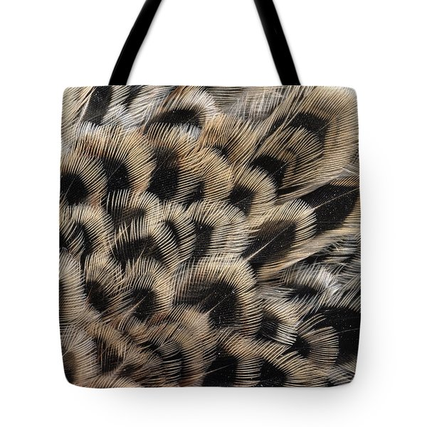 Ring-necked Pheasant Phasianus Tote Bag by Flip De Nooyer