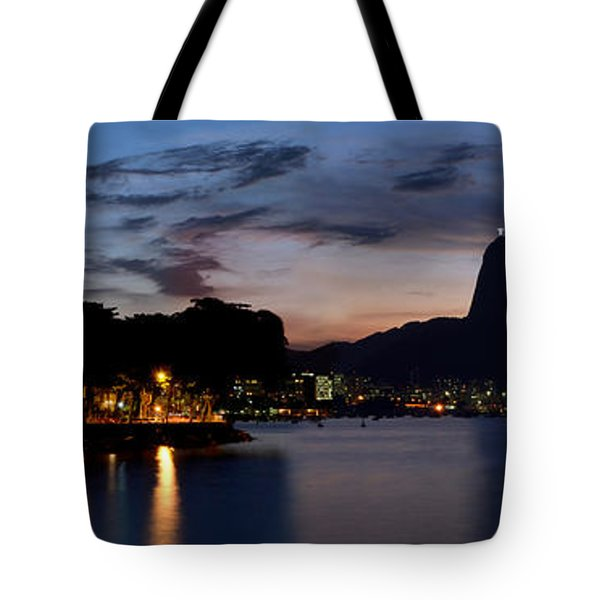 Rio Skyline From Urca Tote Bag