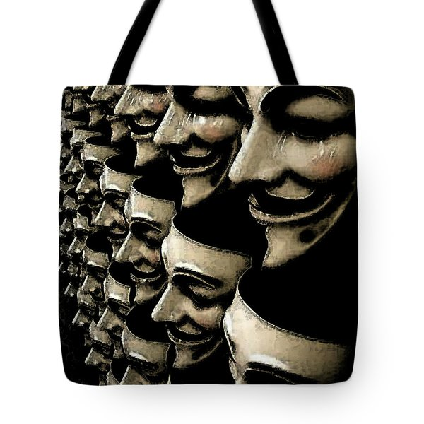 Riot Gear Tote Bag by Monday Beam