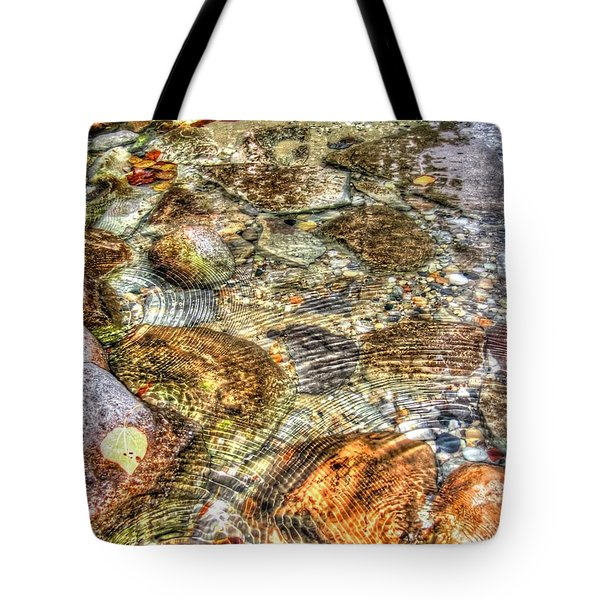 Ripple Effect Tote Bag by Michael Garyet