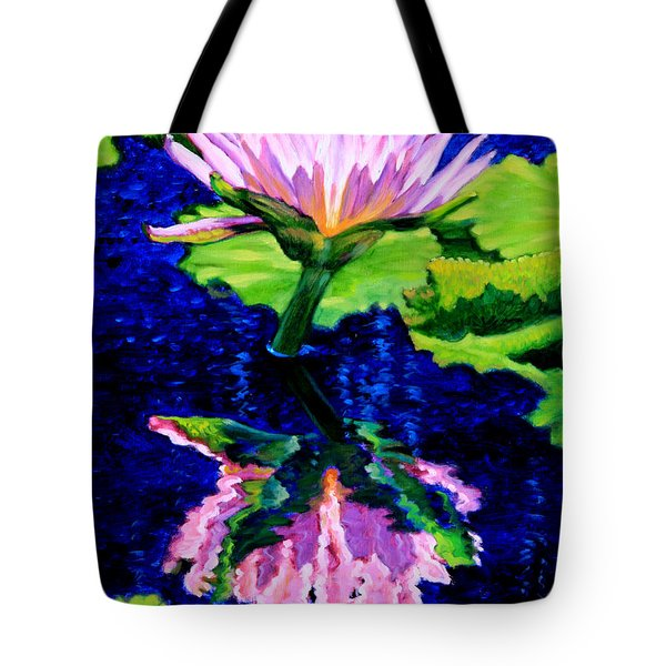 Ripple Reflections Of Beauty Tote Bag by John Lautermilch