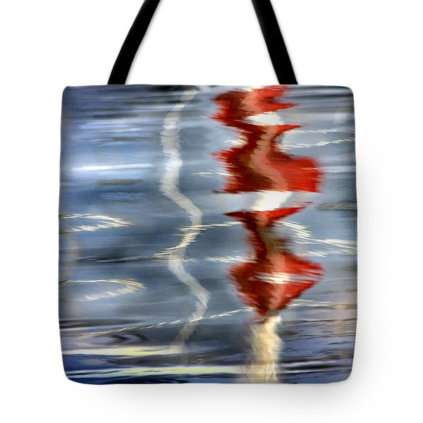 Ripple  Tote Bag by Richard Piper