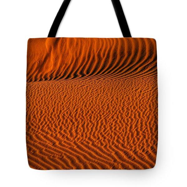 Ripples Converge Tote Bag