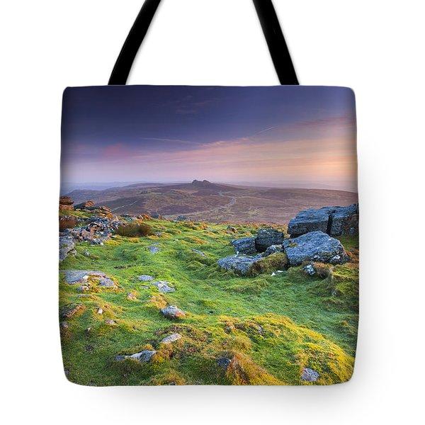 Rippon Tor Tote Bag by Sebastian Wasek
