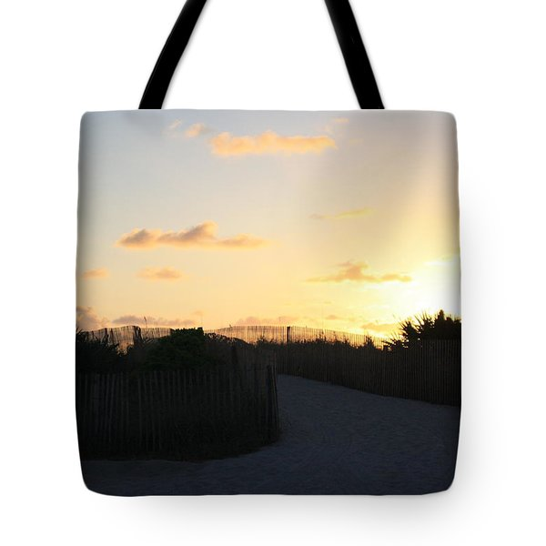 Rise And Shine Miami Tote Bag