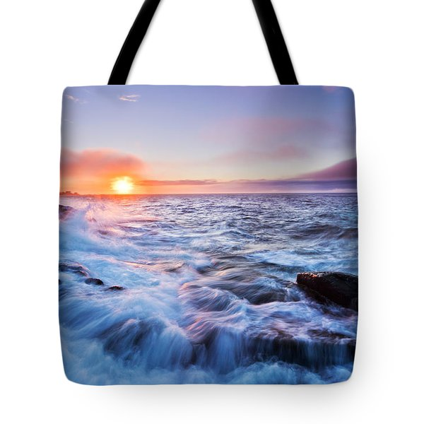 Rising Tide Tote Bag by Mircea Costina Photography