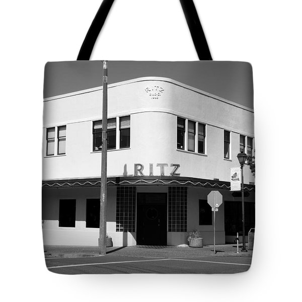 Ritz Building Eureka Ca Tote Bag by Kathleen Grace