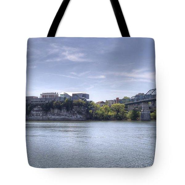 River Bluff Tote Bag by David Troxel