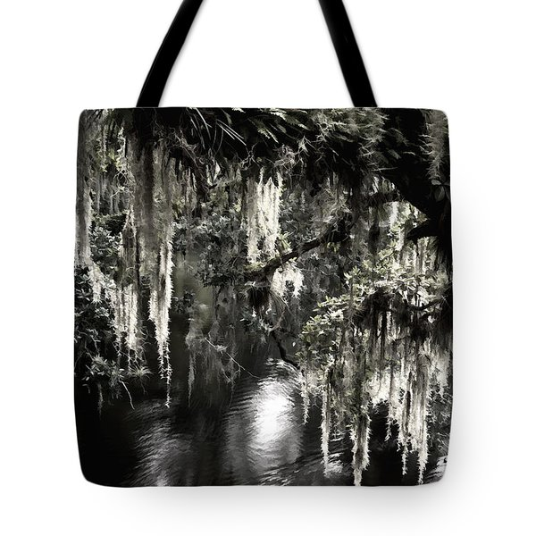 Tote Bag featuring the photograph River Branch by Steven Sparks