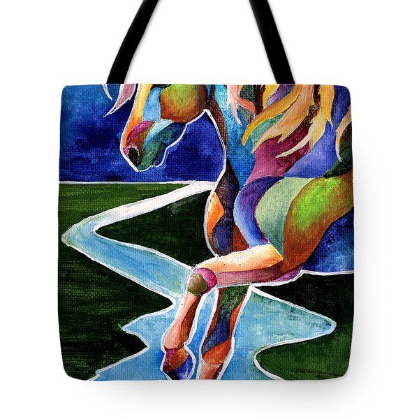 River Dance 2 Tote Bag