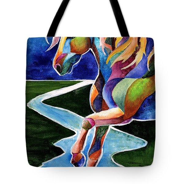 River Dance 2 Tote Bag