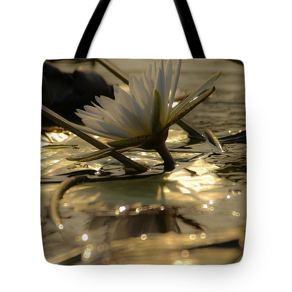 River Lily Tote Bag