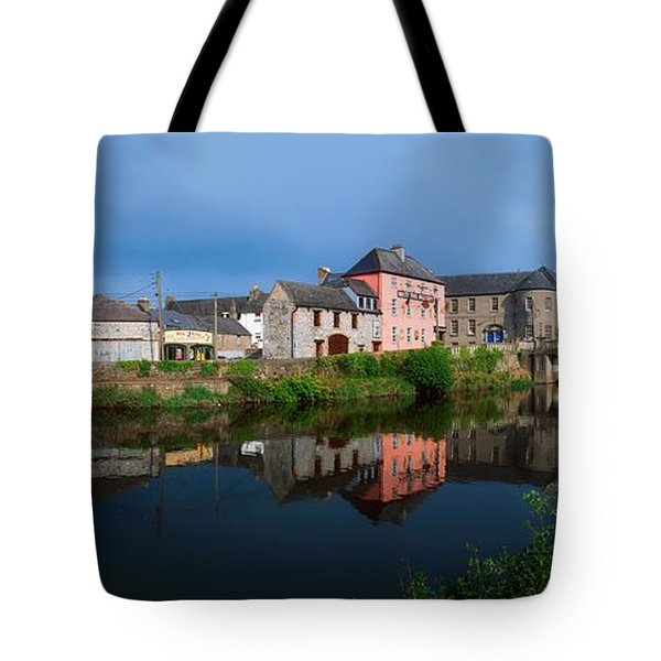 River Nore, Kilkenny, County Kilkenny Tote Bag by The Irish Image Collection