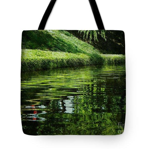 River Reflections Tote Bag