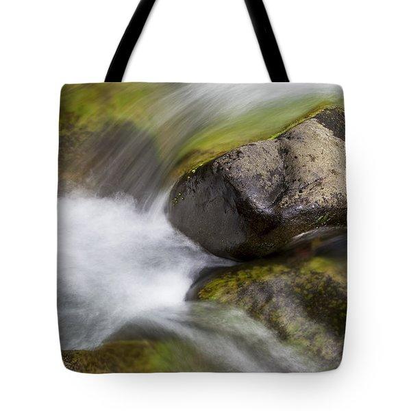 River Rocks II Tote Bag by Jenna Szerlag