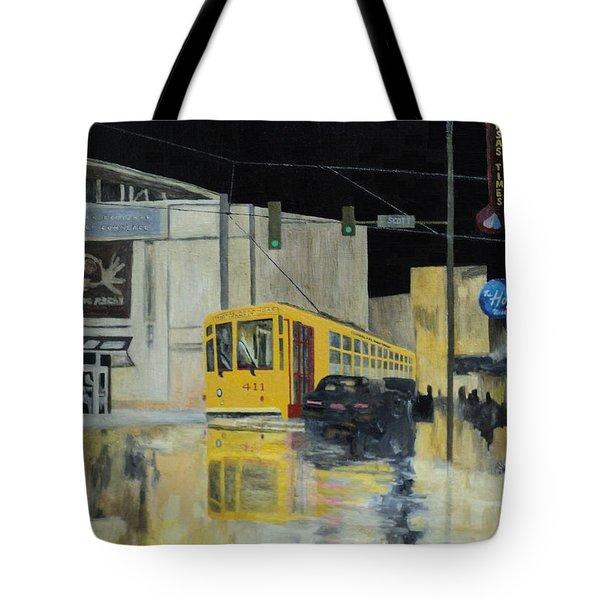 Rivermarket Streetcar 411 Tote Bag