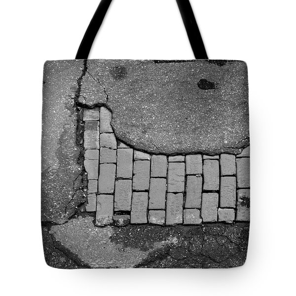 Road Textures Tote Bag by Mike McGlothlen