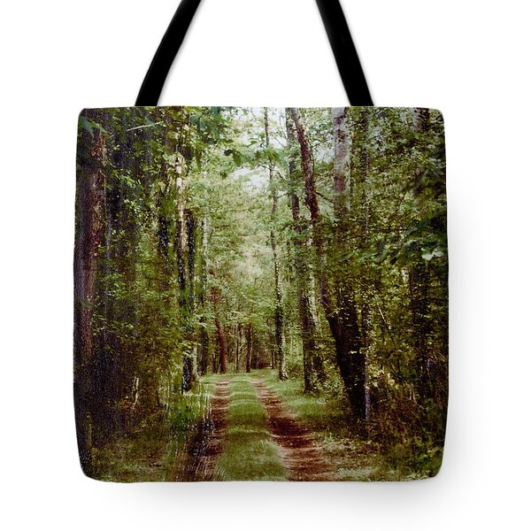 Road To Anywhere Tote Bag