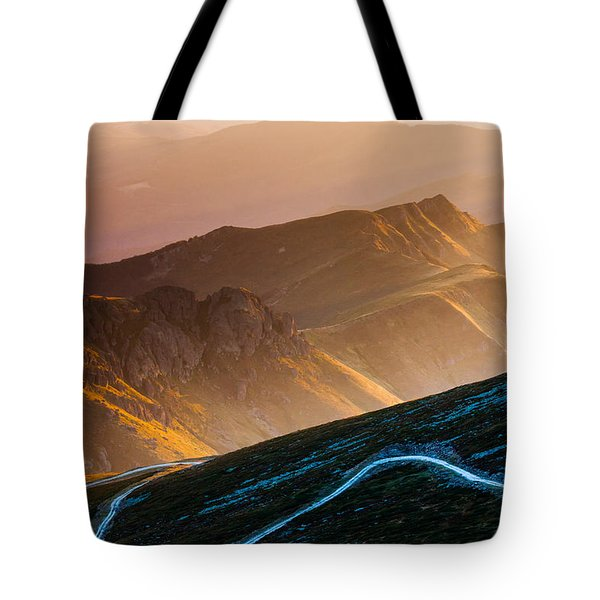 Road To Middle Earth Tote Bag by Evgeni Dinev