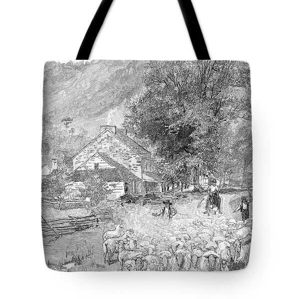 Road Travel Tote Bag by Granger