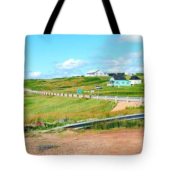 Tote Bag featuring the photograph Road Trip In Cape Breton Nova Scotia by Joe  Ng