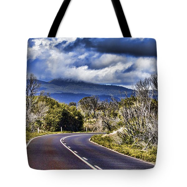 Road With A View Tote Bag