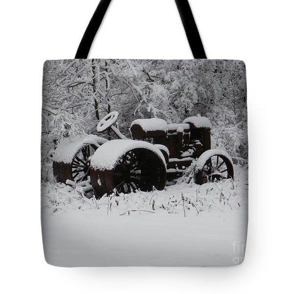 Robed In White Tote Bag by Christian Mattison