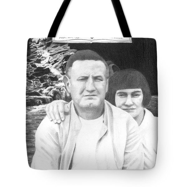 Robert And Theresa Lewis Tote Bag