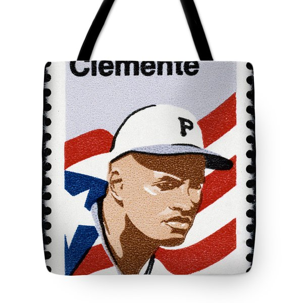 Roberto Clemente Tote Bag by Granger