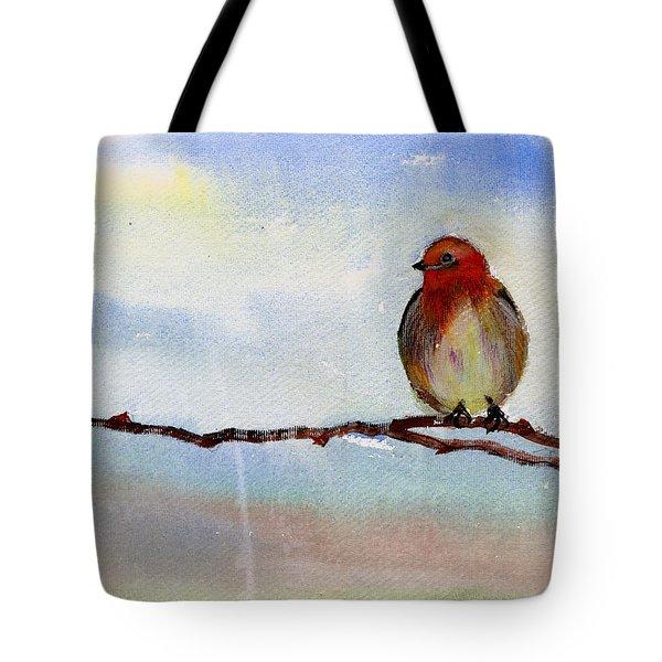 Robin 1 Tote Bag by Anil Nene
