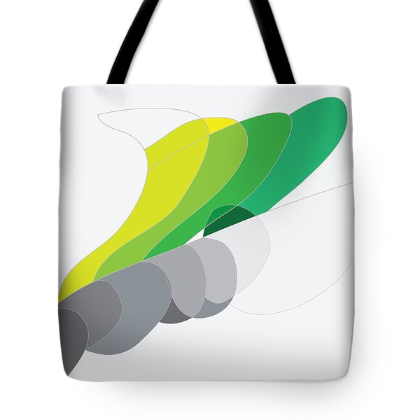 Rock And Lichen Tote Bag