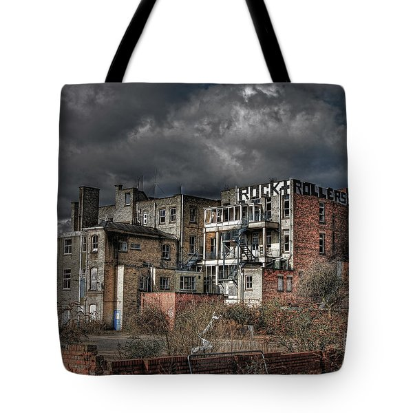 Rock And Rollers Tote Bag by Yhun Suarez