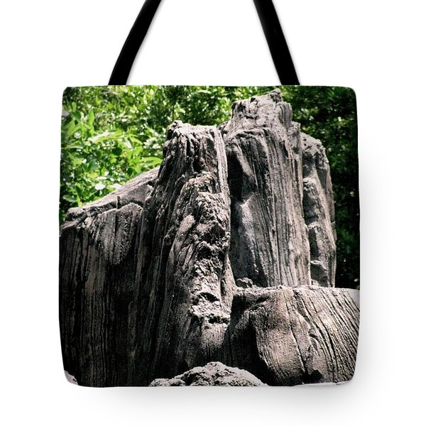 Tote Bag featuring the photograph Rock Formation by Maria Urso