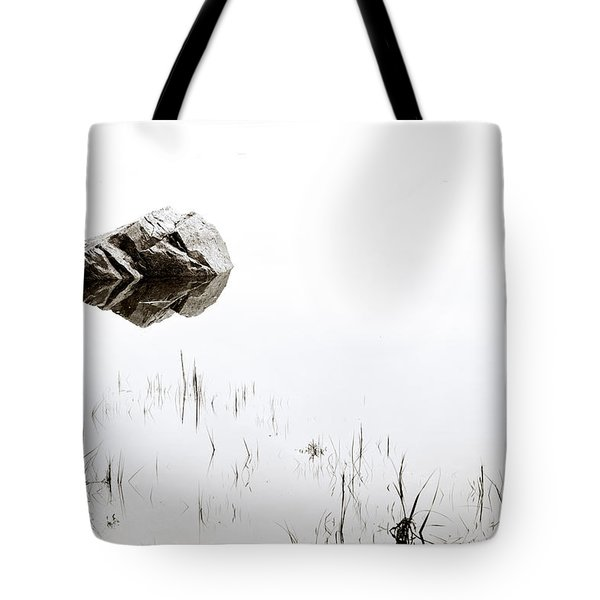 Rock In The Water Tote Bag