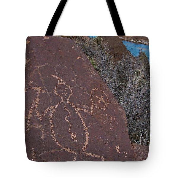 Tote Bag featuring the photograph Rock Warrior by Britt Runyon