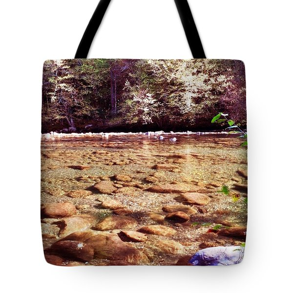 Rock Work Tote Bag by Janice Spivey
