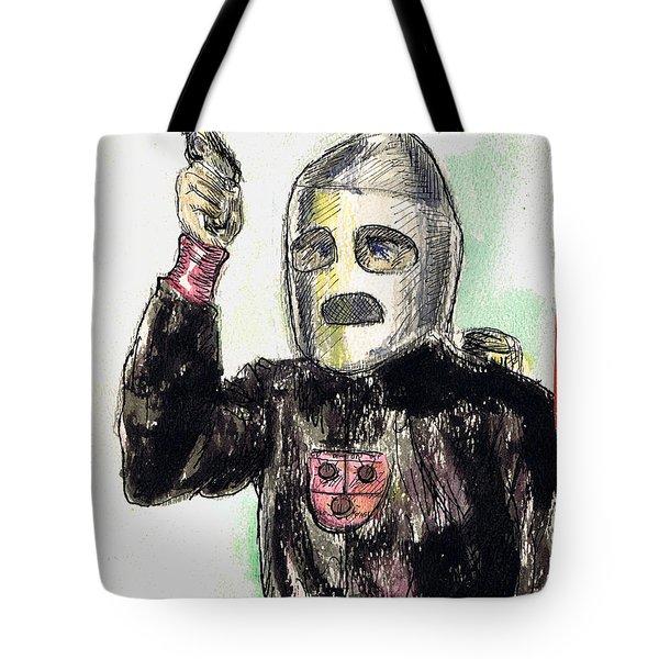 Rocket Man Tote Bag by Mel Thompson