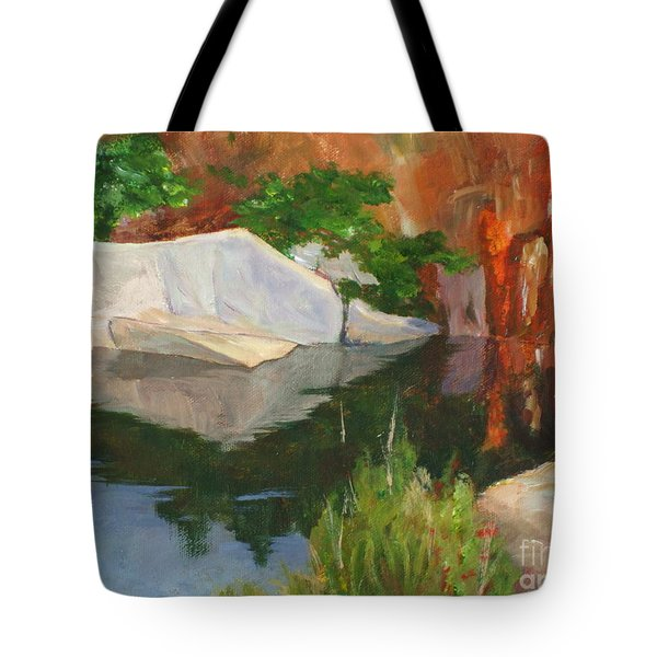 Rockport Quarry Reflection Tote Bag