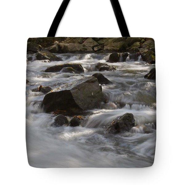 Rocks And Rapids   Tote Bag
