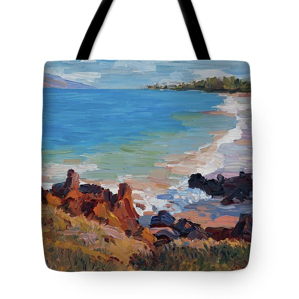 Rocks At Maui Beach Tote Bag