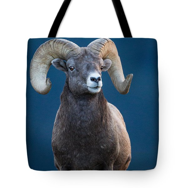 Rocky Mountain Big Horn Tote Bag